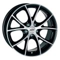 Alutec Cult 7x16 5x100 ET38 63,3 Diamond Black Front Polished