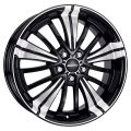 Alutec Ecstasy 9,5x20 5x112 ET70 70,1 Diamond Black Front Polished