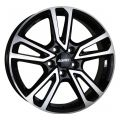 Alutec Tormenta 7,5x17 5x108 ET50,5 63,4 Diamond Black Front Polished